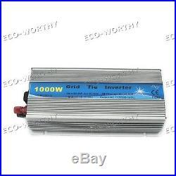 800W Watt 12V Complete Grid Tie KIT5160W Mono Solar Panel with 1000W Inverter dd