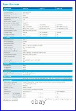 80KW Commercial Three-Phase Transformerless Solar Inverter 480/277V Grid Tie