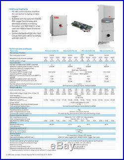 ABB PVI-3.6-OUTD-US, 3600w Gridtie Inverter 208v/240v/277v