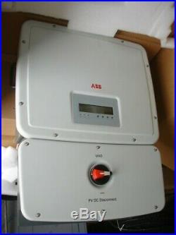 ABB UNO Solar Grid Tie Power inverter UNO-7.6-TL-OUTD-S-US-A 7.6Kw