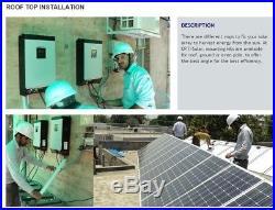 AC120V SOLAR HYBRID INVERTER 2.4KW DC24V grid tie Inverter with Energy Storage