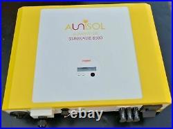 Aunisol Auni Sunwave 6000 6kW Grid Tie Solar Inverter 3 x MPPT USB