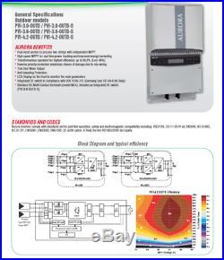 Aurora Powerone PVI-3.0 3000W Solar Grid tie inverter 2MPPT