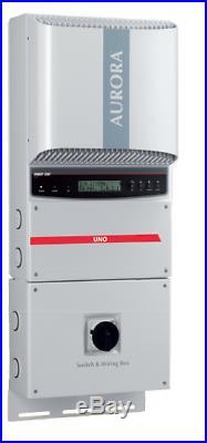 Aurora Powerone PVI-4.2 4200W Solar Grid tie inverter 2MPPT