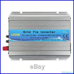Best 1000W 500W 600w solar grid tie inverter sine wave 20-60V DC MPPT BG1