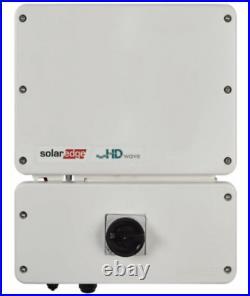 Brand New In Box Solaredge 7600-us000bnu4 Single Phase Hd-wave Grid-tie Inverter