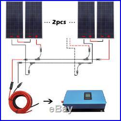 ECO 1000W Grid Tie Solar System 6pcs 160W Solar Panel + 1KW Grid Tie Inverter RV