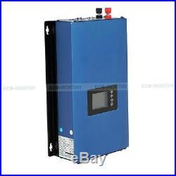 ECO 1000W Power Grid Tie Inverter Power Limiter MPPT PV System DC 45-90V Home