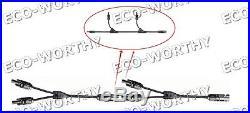 ECO 480W Kit 3pcs 160W Mono Solar Panel with 500W Grid Tie Inverter 12V Home Power