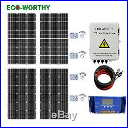ECO 800W 600W 500W 400W 300W 200W Off Grid Solar Panel System Home Caibn RV