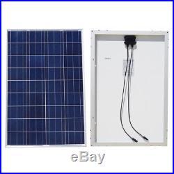 ECO Grid Tie Solar System Roof Kit 100W 150W Solar Panel + 1000W Inverter Home