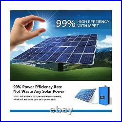 ECO-WORTHY 1000W 1KW MPPT Solar Grid Tie Inverter Power Limiter DC 22 to 65V