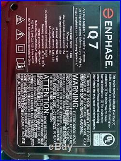 ENPHASE IQ7-60-US MICRO INVERTER Qt 10 Piece