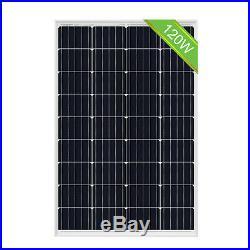 Eco 1000W 1KW Watt 24V Solar kit 8-120W 12V Solar Panel 1000W Grid Tie Inverter