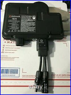 Enphase IQ6 Inverters 240W Micro-Inverter Enphase Energy IQ6-60-2-US 240V
