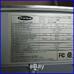 FRONIUS IG PLUS 3.0-1 Grid-Tie Inverter