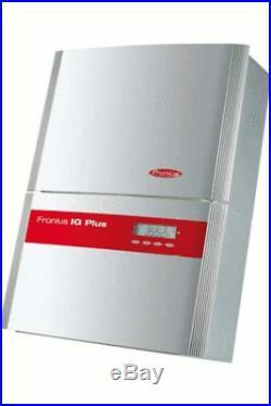 FRONIUS IG + PLUS 3.8-1 UNI 3800W Grid Tie Solar Inverter DC Disconnect USED