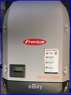 FRONIUS PRIMO 6.0 KW SOLAR GRID TIE INVERTER WithWIFI AND ETHERNET