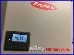 FRONIUS PRIMO 7.6 KW SOLAR GRID TIE INVERTER WithWIFI AND ETHERNET