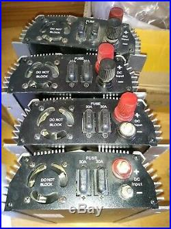 Four 1000W Used Grid Tie Inverters 20-45VDC 110/120V Output MPPT Solar Works
