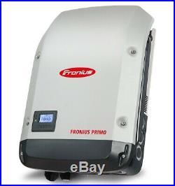 Fronius 4,210,061,800 Primo 7.6-1 Solar Inverter, Single Phase 2 MPPT 208/240VAC