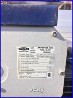 Fronius IG2000 Grid-tie 2000w Solar Electric Inverter (Repaired)