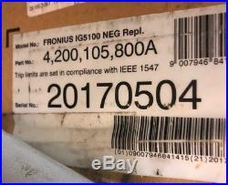 Fronius IG5100 5KW Grid Tie Solar Inverter Factory Replacement 5100 Watts