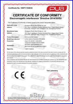 GTB-600W 120V/230V MPPT Solar Micro Grid Inverter Pure Sine Wave Waterproof Line