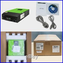Grid Tie Inverter 2400W 24V Solar Inverter 80A MPPT Charger Hybrid Inverter
