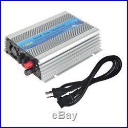 Grid Tie Inverter DC20V-60V to AC 220V Solar Inverter 1000With600With500W Watt EU JS