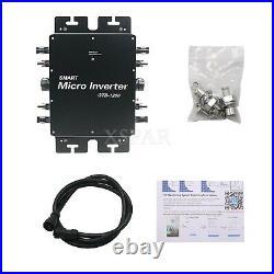 Grid Tie Inverter Solar Grid Tie Micro Inverter Power 1200W For Solar Panel GTB