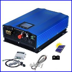 Grid Tie Inverter With Limiter Sensor And Battery Discharge Power Mode DC Home