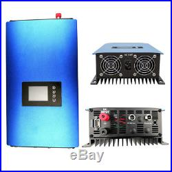 Grid Tie Inverter1000With2000W MPPT Pure Sine wave inverter with battery discharge