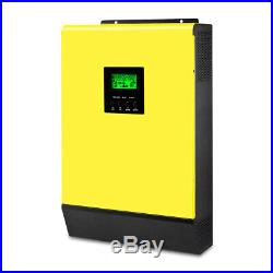 Grid Tied Inverter 3000W 48V 220V Hybrid Solar inverter 450Vdc PV Input 60A MPPT