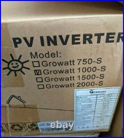 Growatt 1000S Solar PV Grid Inverter 1kW 1000W Opened