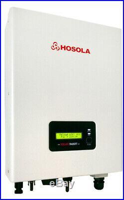 Hosola Smart 3000TL 3.0kW WIFI MPPT PV On Grid Tied Solar Inverter IP65 5 YR WTY