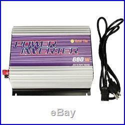 IMeshbean 600W Grid Tie Solar Power Inverter DC 10.8V-30V TO AC 110V/120V USA