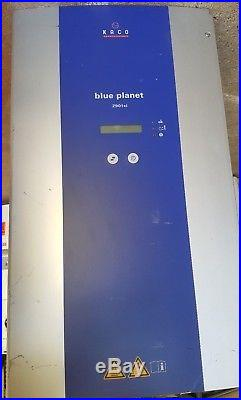 Kaco Blueplanet 2901xi Grid-Tie Inverter, 2900 Watt, 211-264 Volt AC