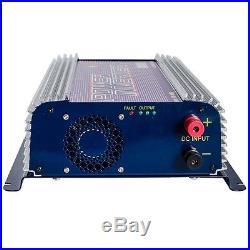 LCD Display 1000W MPPT Solar Grid Tie Inverter Pure Sine Wave DC22-55V TO AC110V