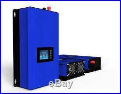 LCD Display 2000W MPPT Solar Grid Tie Inverter Pure Sine Wave DC45-90V AC230V