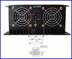 LCD Display 2000W MPPT Solar Grid Tie Inverter Pure Sine Wave DC45-90V TO AC230V