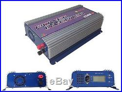 LCD Display Masspower 1500W MPPT LCD DC45-90V Solar Grid Tie Inverter