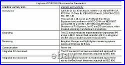 LOT OF SIX (6) Enphase IQ7-60-2-US 250 Watt Solar Micro Inverters FREE SHIP