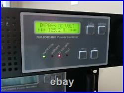 MAJORSINE2000-48-2U Majorpower Majorsine 48V 2000VA Inverter R. 11 1YR WARRANTY