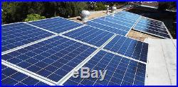 MO 6kw home solar panel kit, grid tie inverter, polysilicon solar cells