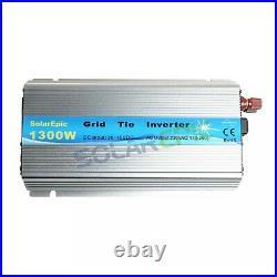MPPT 1300W Grid Tie Inverter DC24V to AC220V Pure Sine Wave Inverter 50/60Hz CE