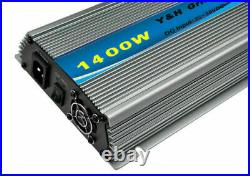 MPPT 1400W Grid Tie Inverter DC22-50V to AC110V Pure Sine Wave Micro Inverter CE