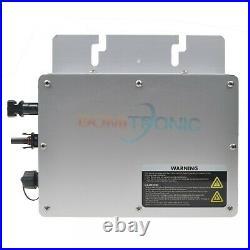 MPPT 300W Waterproof Grid Tie Inverter 24V/36V Pure Sine Wave Inverter IP65 CE