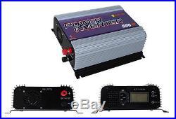 Masspower 500W MPPT LCD DC10.8-30V AC110V Solar Grid Tie Inverter