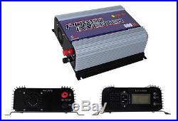 Masspower 600W MPPT LCD DC10.8-30V AC110V Solar Grid Tie Inverter